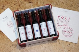 Baby Barrel Pack 5er Grappa Poli 40% Vol.