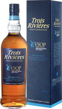Trois Rivières VSOP 40% Vol. 70 cl.