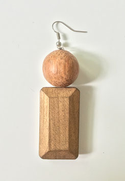 Single earring ULLI  -  Collection  I <3 LE BOIS