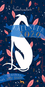 """Windhundkalender 2020 """"Windhundliebe"""""""