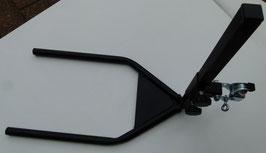 Anhängerkupplungs-Halter, höhenverstellbar, passend für CTM Elektromobile mit 2 Aufnahmen