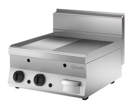 Bartscher Griddleplatte Gas 650,B600, 1/2-1/1