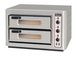 Bartscher Pizzaofen NT 502, 2BK 500x500
