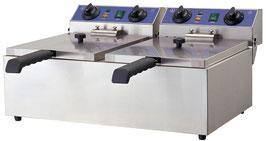 GGG Doppel-Friteuse, elektro