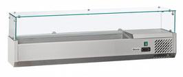 Bartscher Kühlaufsatzvitrine 6x1/4GN T150