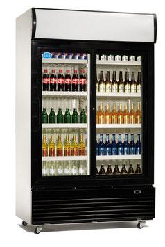 GGG Flaschenkühlschrank 1000 Liter Schiebetüren