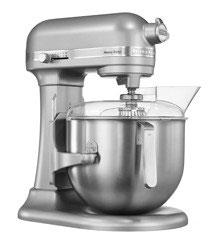 Bartscher Kitchen Aid 5KSM7591X, silber, 6,9L