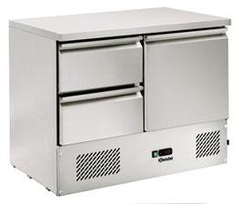 Bartscher Kühltisch, Umluft, B1045, 2SL, 1T