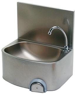 Handwaschenbecken mit kniebedienung