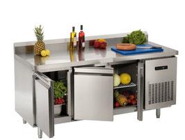 GGG Kühltisch mit Aufkantung