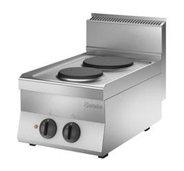 Bartscher Elektro-Kocher mit 2 Kochplatten Serie 650