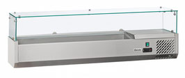 Bartscher Kühlaufsatzvitrine 8x1/4GN T150