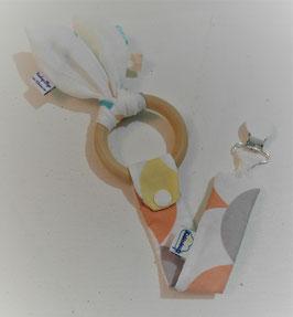 Hochet de dentition - écailles