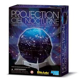 Projection ciel étoilé à construire  -  4M