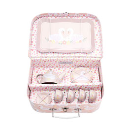 Valise dinette cygnes -  Sass and Belle