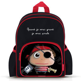 Grand sac à dos à poches  -  Quand je serai grand