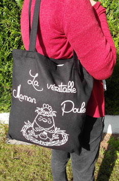 "Sac shopping ""Maman Poule"""