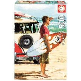 Puzzle 500 pièces - Surfeur