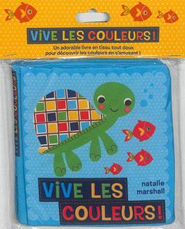 Livre en tissu - Vive les couleurs