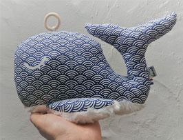 "baleine musicale ""Hokusaï"""