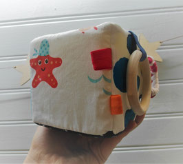 Cube d'éveil - marin