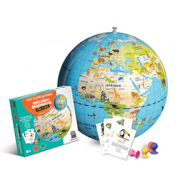 Caly globe gonflable - Mission animaux