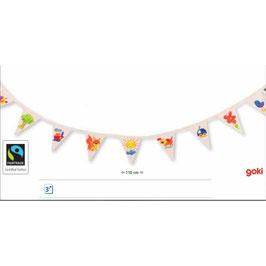 Guirlande fanions à colorier  -  Goki