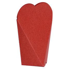 """Geschenkverpackung """"Rotes Herz"""" (Groß)"""