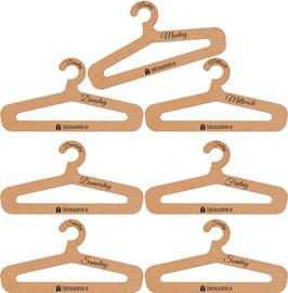 "Kleiderbügel Set ""FashionWeek"" (7 Stück)"