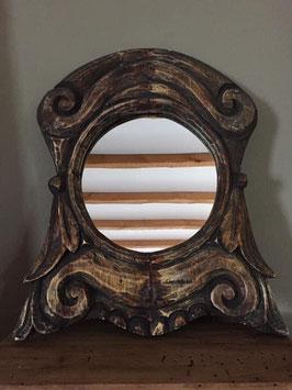 Spiegel Ossenoog hout