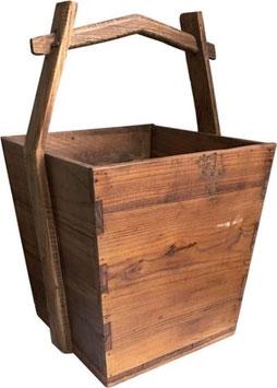 houten plukbak