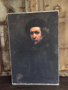 Houten paneel Rembrandt