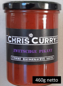 ChrisCurry Zwetschge Pikant 460g
