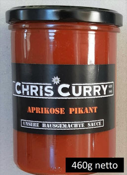 ChrisCurry Aprikose Pikant 460g