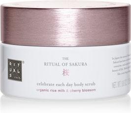 Rituals of Sakura scrub