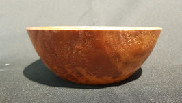 Schale aus gestocktem Kirsch Holz gedrechselt s93
