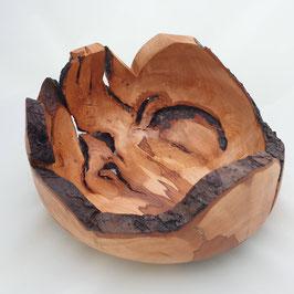 Wurzelschale aus Apfel Holz s198
