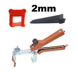 Kit 2 mm + pince Raimondi PERFECTLEVEL PRO