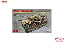 Panther Ausf.G with Full Interior & Workable Track Links & Cut Away Parts of Turret & Hull