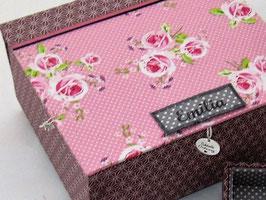 personalisierbare  Schmuck-Schatulle, Schatzkästlein ein Geschenk zum Geburtstag