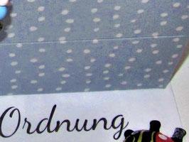 Traumfänger himmellblau, kleine Kinder-Schatzkiste, personalisiert