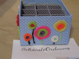 XXL Stifteköcher, große Ordnungsbox für Kinderutensilien, personalisierbar