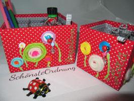 Stifteköcher, Ordnungsbox für Kinderutensilien, personalisierbar