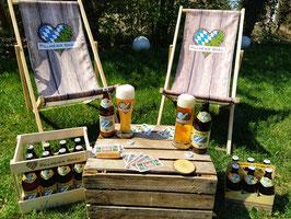 Pillmeier Bräu Biergarten für Dahoam