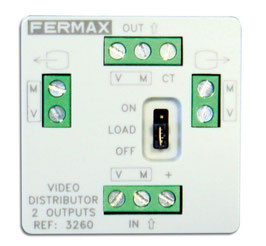 3260 Distribuidor Fermax Mini Vídeo 2S