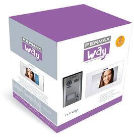 "1401 Kit de Vídeo WAY 7"" Fermax 1 Línea"