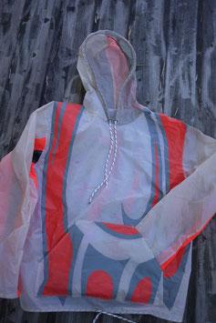 veste coupe-vent en voile de kite recyclée