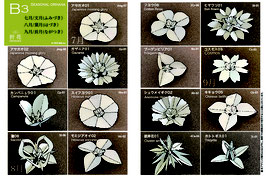 中級季節の花B3