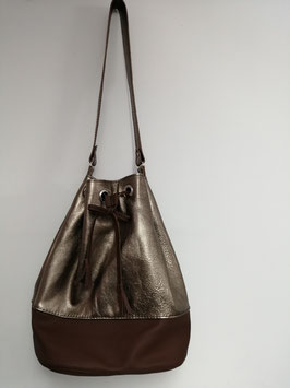 Goldene Tasche - Unikat