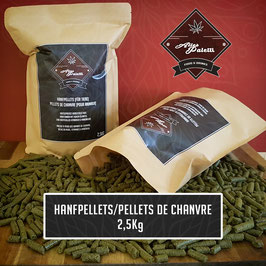 Hanfpellets/Pellets de Chanvre